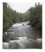 Sainte-anne River, Quebec Fleece Blanket