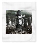 Steampunk Fleece Blanket