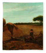 The Brush Harrow Fleece Blanket