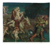 The Triumph Of The Innocents Fleece Blanket