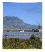 Trapani - Sicily Fleece Blanket