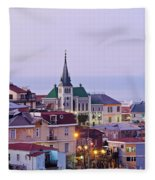 Valparaiso, Chile Fleece Blanket