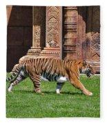 61- Sumatran Tiger Fleece Blanket