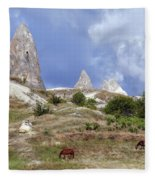Cappadocia - Turkey Fleece Blanket