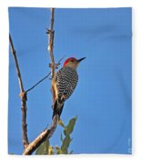 62- Red-bellied Woodpecker  Fleece Blanket