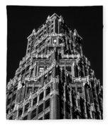66 Court Street In Brooklyn Ny Fleece Blanket