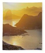 Rio De Janeiro Fleece Blanket