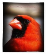 6751-010 Cardinal - Miss You Fleece Blanket
