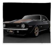 '69 Camaro Z28 Fleece Blanket