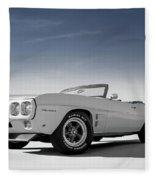 69 Firebird Convertible Fleece Blanket