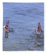 69- Paddle Boarders Fleece Blanket