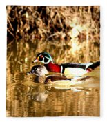 6980 - Wood Duck Fleece Blanket