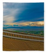 6x1 Philippines Number 413 Panorama Tagaytay Fleece Blanket