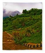 6x1 Philippines Number 470 Panorama Tagaytay Fleece Blanket