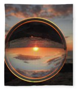 7-26-16--4577 Don't Drop The Crystal Ball, Crystal Ball Photography Fleece Blanket