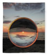 7-26-16--4581 Don't Drop The Crystal Ball, Crystal Ball Photography Fleece Blanket