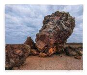 Agglestone Rock - England Fleece Blanket