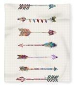 7 Arrows Fleece Blanket