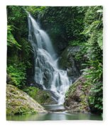 Beautiful Waterfall Fleece Blanket