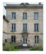Chantilly France Street Scenes Fleece Blanket