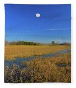 7- Everglades Moon Fleece Blanket
