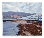Famara - Lanzarote Fleece Blanket