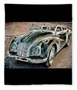 Former East Germany I F A Car Fleece Blanket