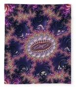 Fractal, Pattern, Kaleidoscope, Art Fleece Blanket