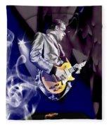 Joe Bonamassa Blues Guitarist Art Fleece Blanket