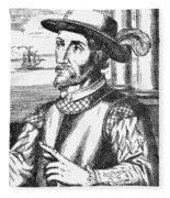 Juan Ponce De Leon Fleece Blanket
