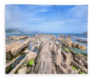 Jurassic Coast - England Fleece Blanket