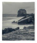 Portland Bill - England Fleece Blanket