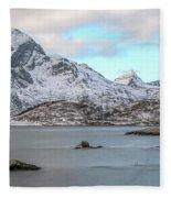 Sund, Lofoten - Norway Fleece Blanket