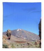Tenerife - Mount Teide Fleece Blanket