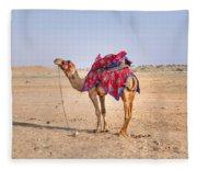 Thar Desert - India Fleece Blanket