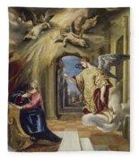 The Annunciation Fleece Blanket