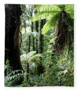 Tropical Jungle 2 Fleece Blanket