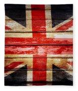Union Jack Flag  Fleece Blanket
