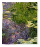 Waterlilies Fleece Blanket