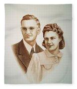 70 Years Together Fleece Blanket