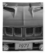 '71 Cuda Fleece Blanket