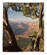 713261 V Desert View Grand Canyon Fleece Blanket