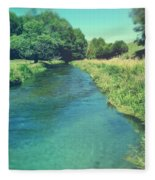 Spring Water Fleece Blanket