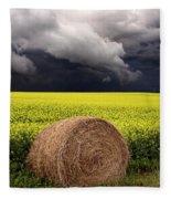 Storm Clouds Saskatchewan Fleece Blanket