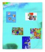 8-10-2015abcdefghi Fleece Blanket