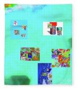 8-10-2015abcdefghij Fleece Blanket