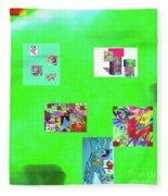 8-10-2015abcdefghijklm Fleece Blanket