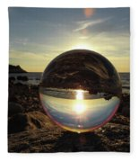 8-25-16--5717 Don't Drop The Crystal Ball, Crystal Ball Photography Fleece Blanket