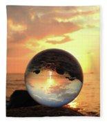 8-26-16--5927 Don't Drop The Crystal Ball, Crystal Ball Photography Fleece Blanket