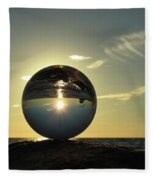8-30-16--6270 Don't Drop The Crystal Ball, Crystal Ball Photography Fleece Blanket